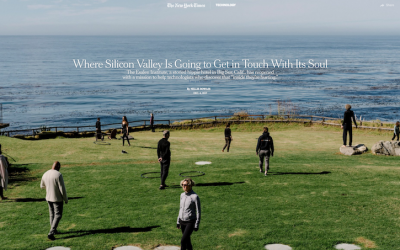 The New York Times – Where Silicon Valley Is Going to Get in Touch With Its Soul